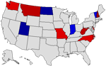 2008 State Map