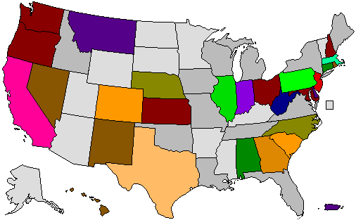 Mock Election Map