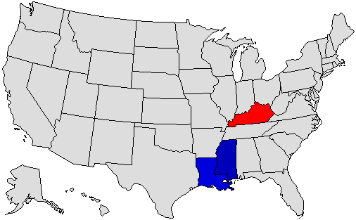 2015 Gubernatorial Prediction Map