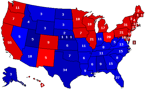 President Prediction Map