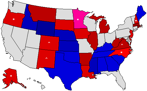 Senate Prediction Map
