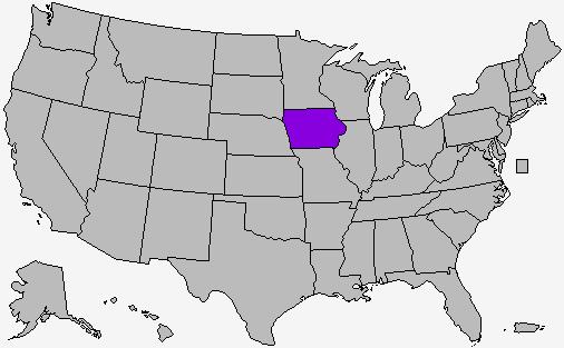 Hindsight Is - Us delegates map