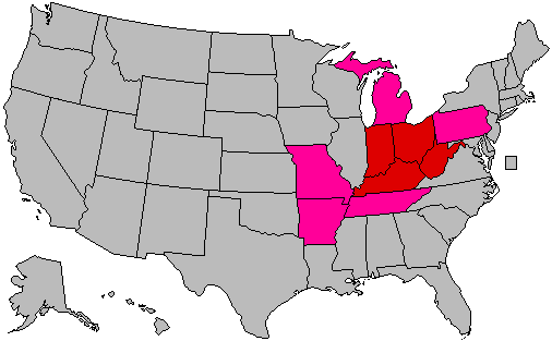 dividing the us into regions