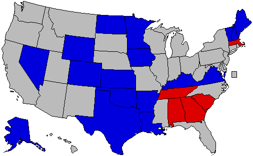 Map that explains ongoing Republican primary fight