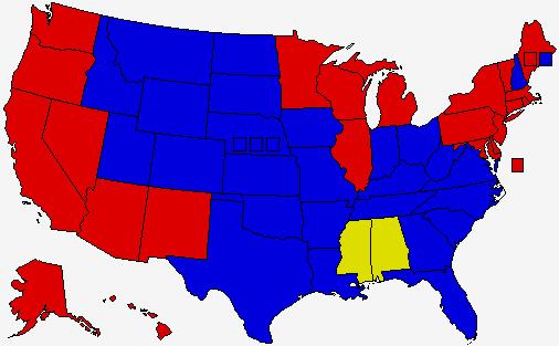 Hillary Clinton D Vs Mitt Romney R Vs Donald Trump I - Us map trump vs clinton