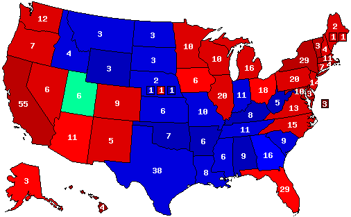 Post your final 2016 Presidential Election prediction maps here