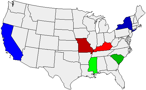 Home State Map