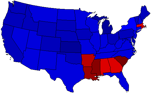 1928 National Map of General Election Results for President