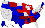 1990 State Map