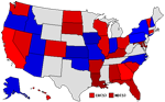 1992 State Map