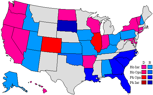 2004 Senatorial Pick-up Map
