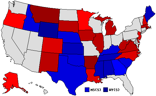 U.S. Senate Results Map
