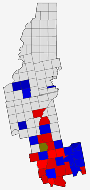 Somerset 2012 Presidential Results by Town