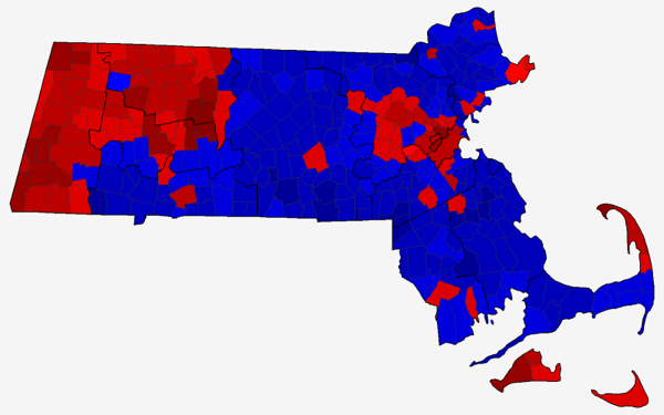 2010 Massachusetts Special Senate Map by County Subdivision