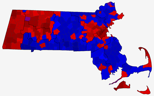 2013 MA Special Senate County Subdivision Map