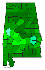 AL 2014 Senate Vote Dropoff