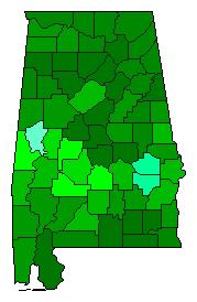 AL 2014 Senate Vote Dropoff